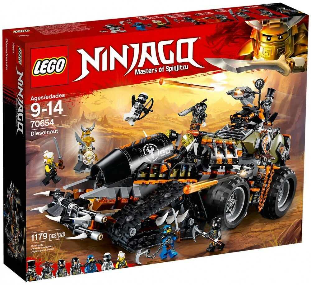 Lego Ninjago 70654 Dieselnaut BRAND NEW in SEALED BOX