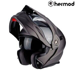 Scorpion-ADX-1-Modular-Flip-Dual-Sport-Motorcycle-Helmet-Matt-Grey