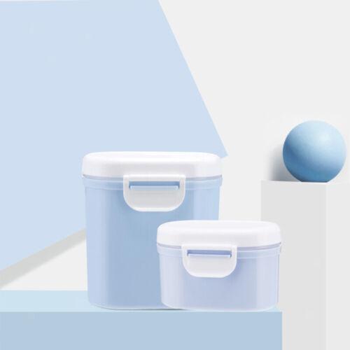 tragbare Babynahrung-Milchpulver-Behälterbox mit Schaufel bpa freies Blau