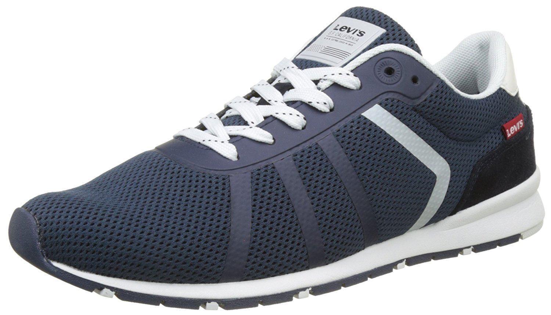 Levi's Almayer Lite Marine Weiß Herrens Sneakers
