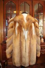 Beautiful Women's RED FOX Fur Coat XL 14/16 40 From Europe