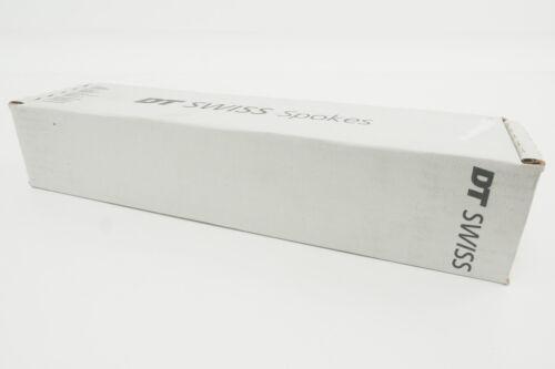 NOUVEAU DT Swiss Revolution 265 mm J-Bend 1.8//1.5 Roue Spoke Boîte de 500 noir