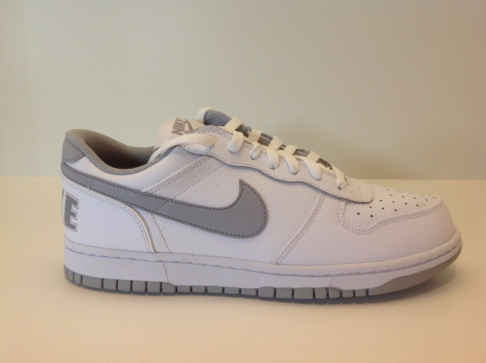Big Nike Low White/Grey Men's Size 8-13 New in Box 355152 106