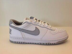 316b6aa1c8 Big Nike Low White/Grey Men's Size 8-13 New in Box 355152 106 | eBay