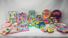 polly pocket bundle 13 × Mix Magic Ball.  Cases , Compacts . Houses