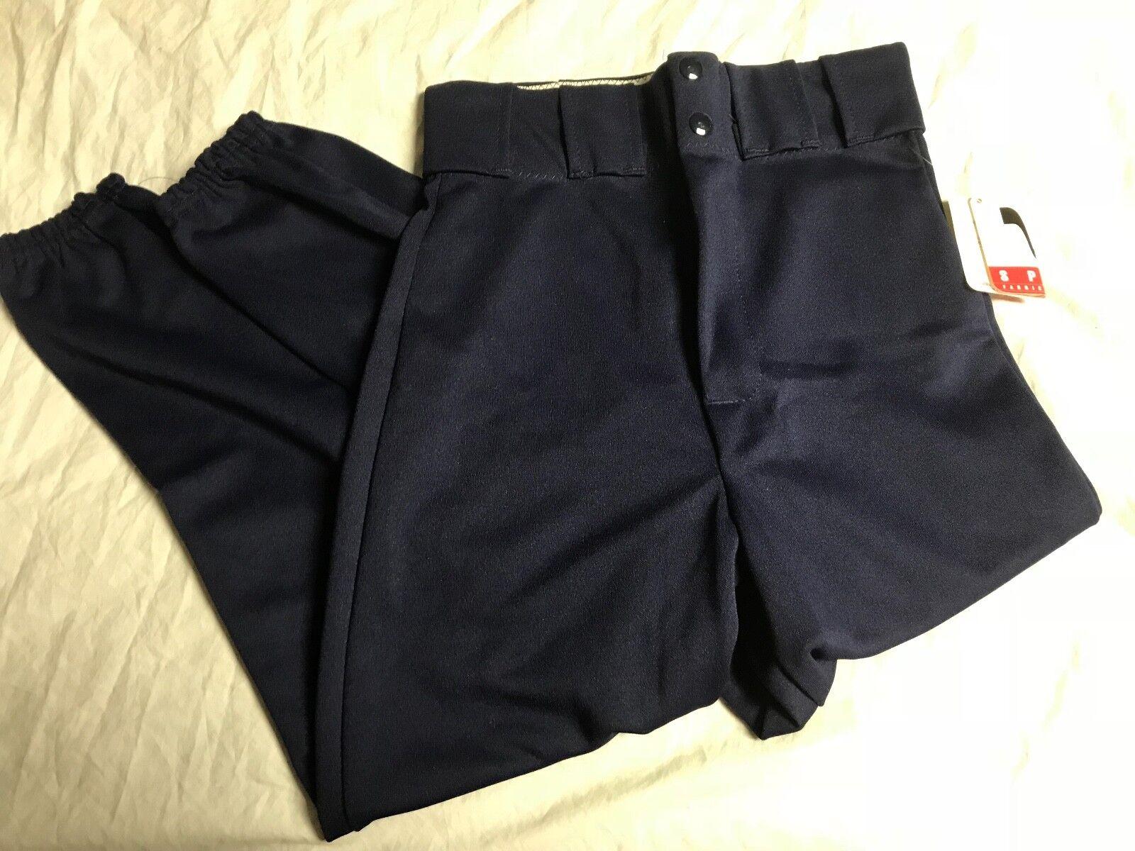 LOT of 27 Pair Visa Sports Latrell Adult Softball Pants Navy Multiple Größes NEW
