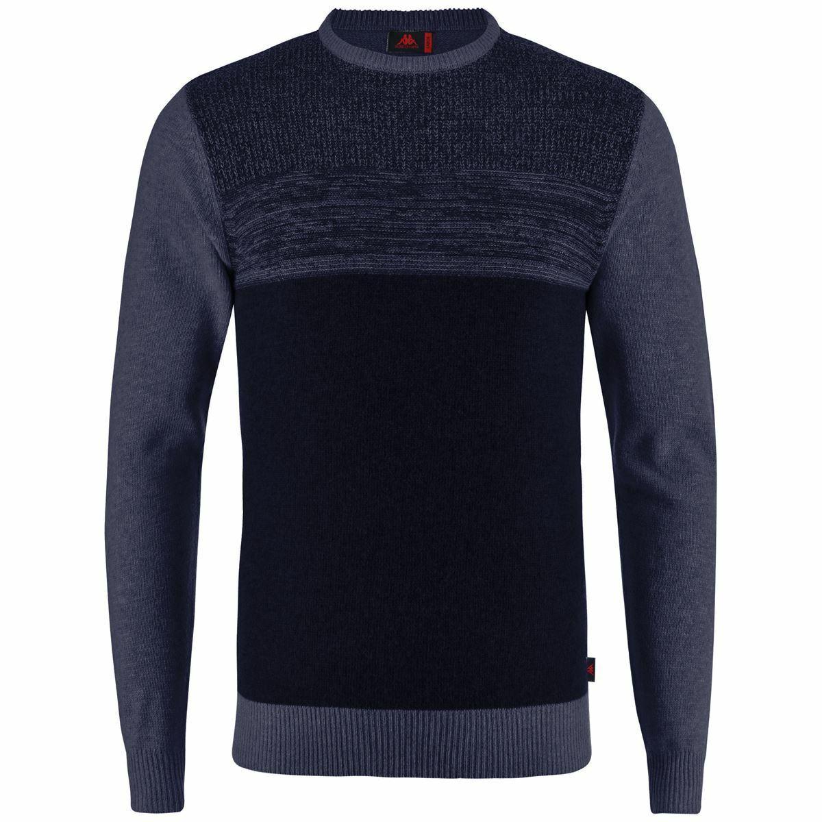 Robe di Kappa Knitwear Sweater Man JES Classic PULL OVER