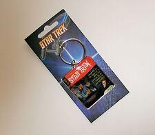 STAR TREK Metal Keyring Displaying The Cover of Vintage Gold Key Comic TRICKED!