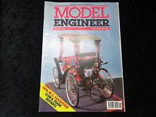 Model Engineer Magazine No3893 4 Apr 1991 Belt Drives & 5 Cylinder Radial Engine