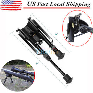 """NEW Tactical Rifle 6"""" to 9"""" Foldable & Adjustable Spring Return Bipod"""