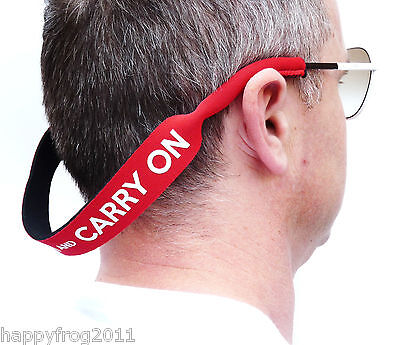 KEEP CALM and CARRY ON Sunglasses Spectacle Glasses Stretchy Holder Band Strap