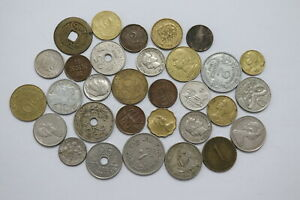 OLD-WORLD-COINS-USEFUL-LOT-B20-XE22