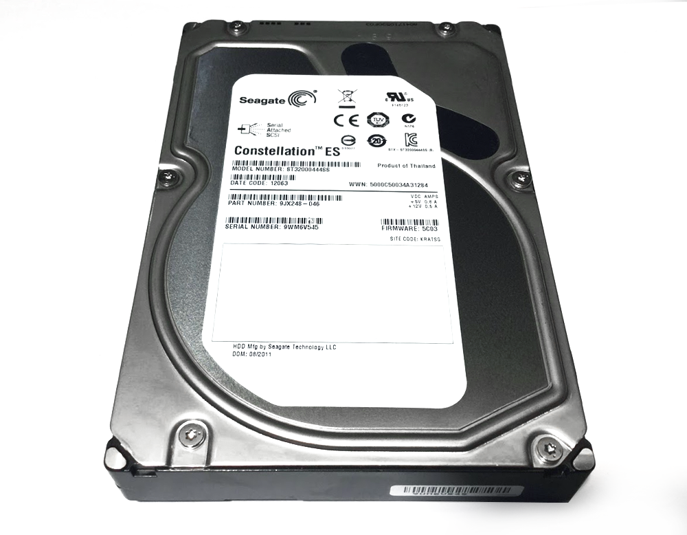 "ST32000444SS SEAGATE 2TB 7.2K 6G 3.5/"" SAS HDD FOR DELL POWEREDGE R710 R720"