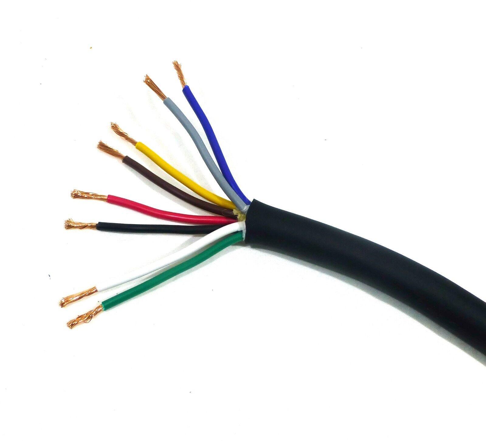 Lase 13 AWG Gauge 8 Conductor Heavy Duty Speaker Wire ( in 10 FT ...