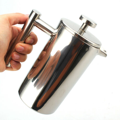 With filter 304 stainless steel coffee pot espresso tea maker french press