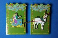 Tangled Paris Christmas Sleigh 2 Pin Set Rapunzel Flynn Maximus Le Dlrp Disney