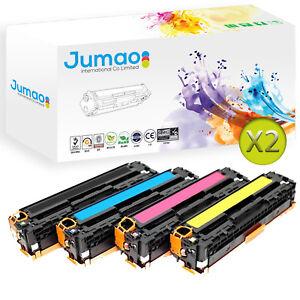 8-Toners-cartouches-d-039-impressions-type-CE32-Jumao-pour-HP-LaserJet-Pro-CM1415fn