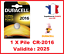 Lot-de-1-a-10-Pile-CR-2016-DL-2016-DURACELL-bouton-Lithium-3V-DLC-2025