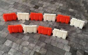 OO Gauge Road Barriers // Pedestrian Barriers 1:76 scale pack of 10