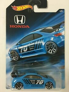 Hot-Wheels-JDM-70th-Anniversary-Wal-Mart-Exclusive-2018-4-8-Honda-Civic-SI-Blue