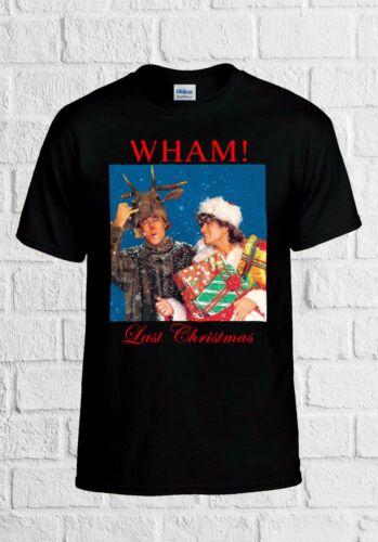 Last Christmas Wham George Michael Men Women Vest Tank Top Unisex T Shirt 2265