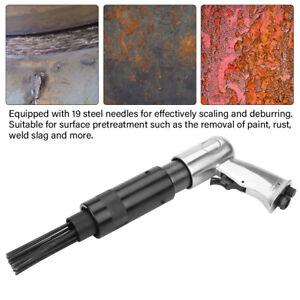 Druckluft-Nadelentroster-Nadelpistole-Rost-Entferner-19-Nadeln-Entroster-NEU-A
