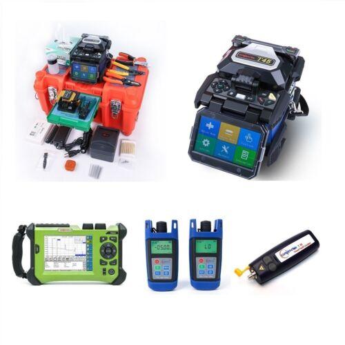 SV20A OTDR SM 1310//1550nm  FTTH Tools kit Orientek T45 Fusion Splicer Kit