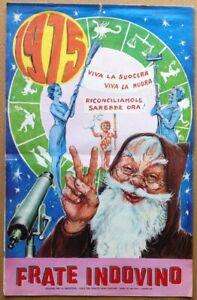 Calendario Frate Indovino Ebay.Dettagli Su Calendario Frate Indovino 1975 Edizione Per La Sardegna Suocera Nuora