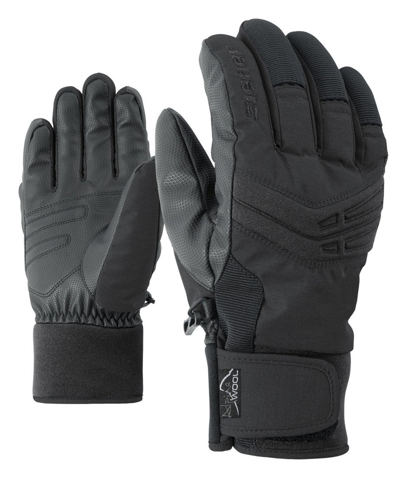 Ziener Herren Skihandschuhe GINOM GINOM GINOM AS® AW glove schwarz 08530e
