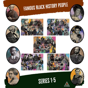 Famous People Poster Black History Series 03 24x18