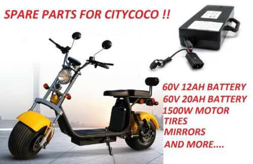 BATTERY FOR CITYCOCO SPARE PARTS FOR CITYCOCO EU WAREHOUSE WE SEND WORLDWIDE