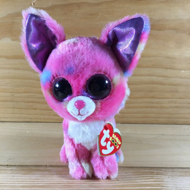 d594ee66caa Ty Beanie Baby Boos Cancun Chihuahua Dog 6 Inch Glitter Eyes B1 for ...