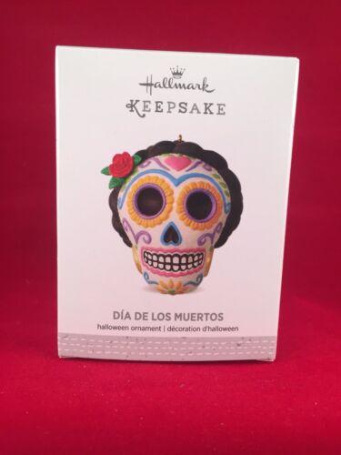 Dia De Los Muertos 2016 Hallmark Halloween Day of the Dead Ornament  Sugar Skull