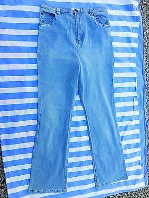 Begeistert Umstands-jeanshose Größe 36 Hellblau Reinweiß Und LichtdurchläSsig