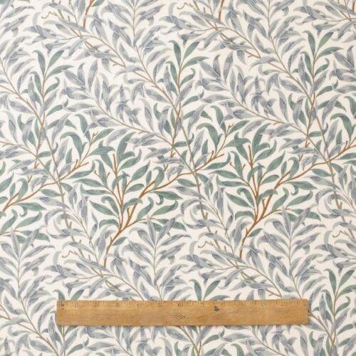 William Morris rama verde de sauce 147 cm Mantel