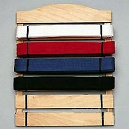 6 Level Martial Arts Belt Display Wall Rack Holder for Karate Tae Kwon Do Belts