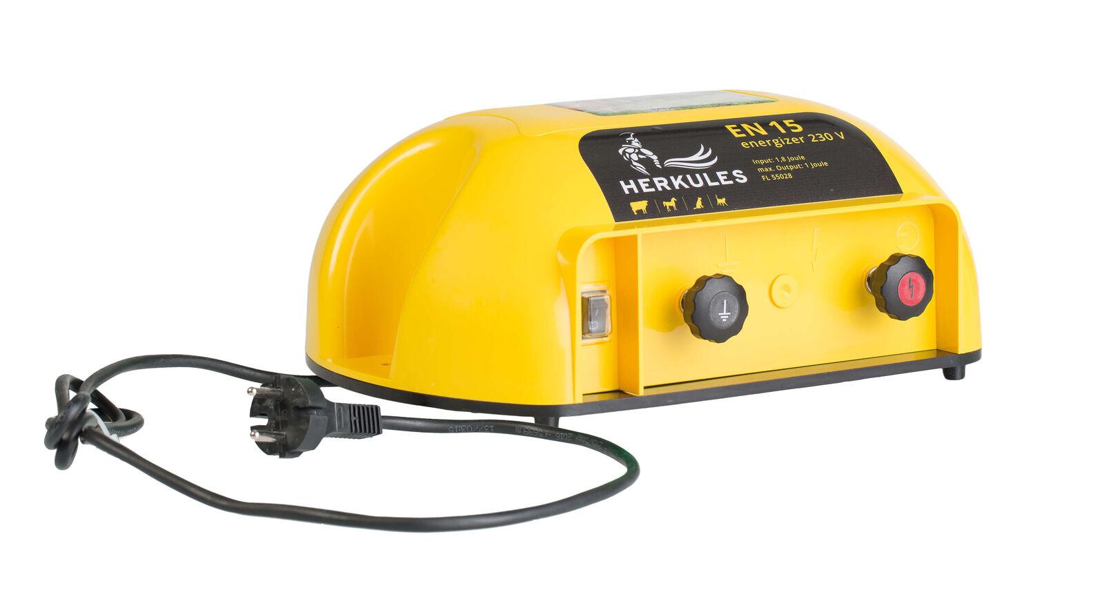Électrificateur Hercule en15, 230 V-Caméscope