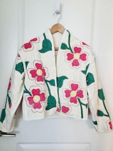 Vintage Quilt Coat Jacket