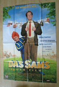 Filmplakat-Das-Sams-Der-Film-Ulrich-Noethen-Armin-Rohde-DINA0