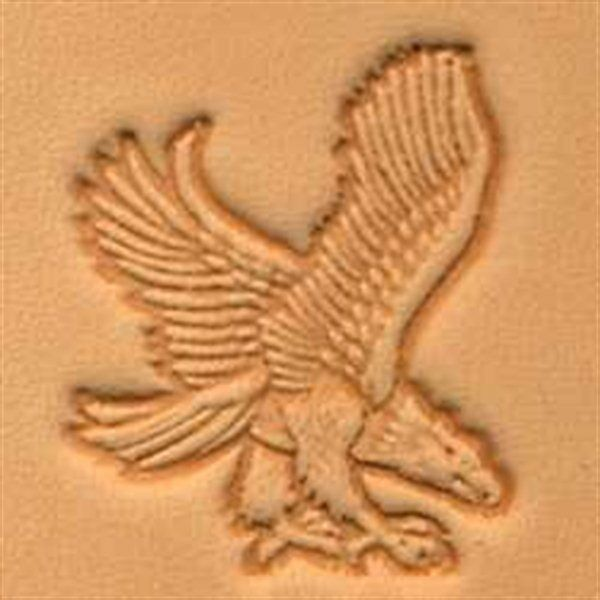 Flying Eagle Solid Rubber Stamp for Stamping Crafting Planners 3//4 Inch Small