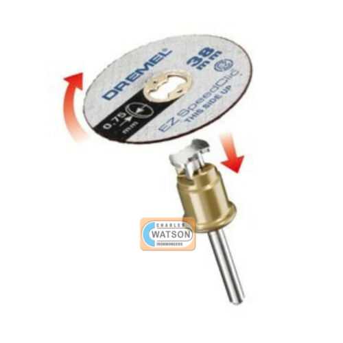 DREMEL Multi Tool Accessories 409SC Speedclic Thin Cutting Wheel Discs Pack 5