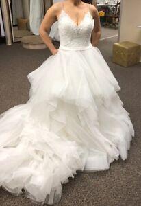Allure Wedding Dresses.Details About Allure Bridal Ivory Wedding Dress Style 9450