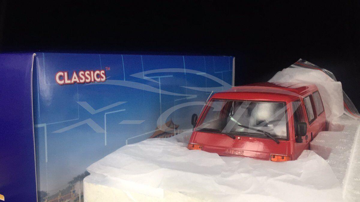 Modello AUTO DIECAST yiqi cinese Tianjin la DAFA TJ110 1:18  Rosso  + REGALO
