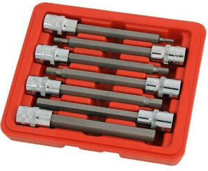 7pc-Extra-Long-Hex-Bit-Socket-Set-Allen-Key-Socket-Tool-110mm-long-3-10mm-3-8dr