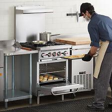 24 Liquid Propane Commercial Kitchen 4 Burner Range With Standard Oven