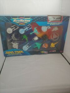 NEW-Micro-Machines-16-Star-Trek-Limited-Edition-USS-Enterprise-Collectors-I-Set