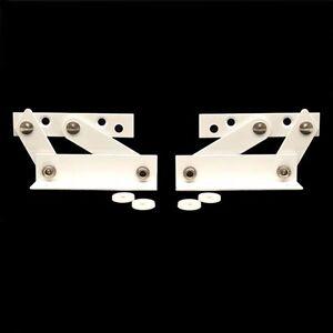 Tecla Mf3250 White Fold Down Boat Armrest Seat Bracket