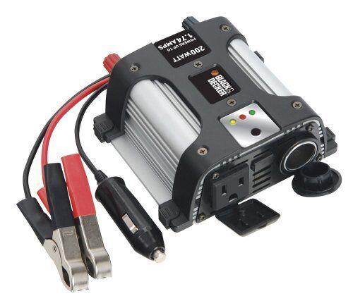 Black & Decker PI200AB Power Inverter 200 Watt