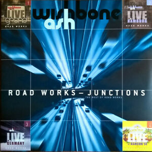 Wishbone-Ash-Road-Works-Junctions-The-Best-Of-Limitee-RSD-2-LP-Neuf