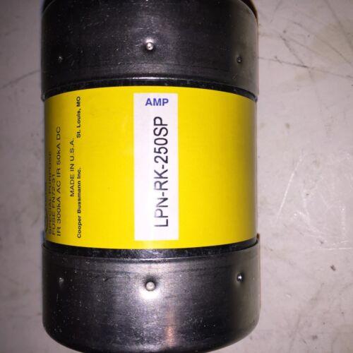 Lot of 3 Bussmann Low-Peak Dual Element Time Delay Fuse LPN-RK-250SP
